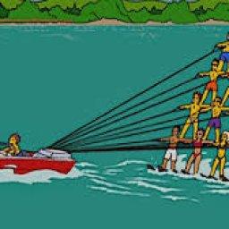 Lynzay Legois Adaptive Water Skiing