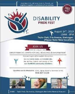 Disability Pride Fest of Sheboygan County