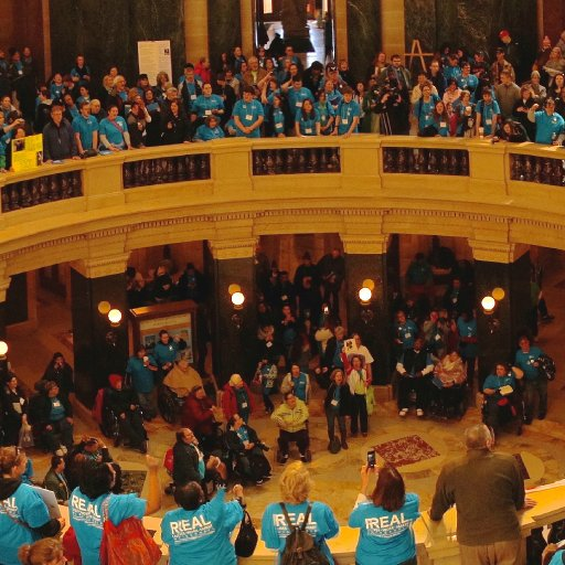 Wisconsin Disability Advocacy Day 2015-11