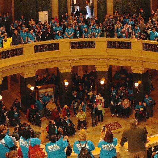 Wisconsin Disability Advocacy Day 2015-11