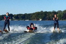 adaptive and inclusive water skiing